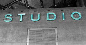 Audio Production Studio Sign